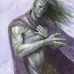 Modern Prometheus--$50.00 ---9x12 paperwatercolor