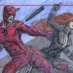 Daredevil and The Black Widow