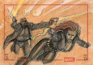 Fury and Widow