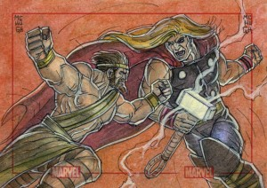 Hercules and Thor