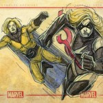Sentry and Capt Marvel