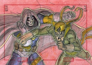 Taskmaster Vs Iron Fist