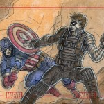 Cap Vs The Winter Soldier