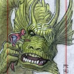 Fin Fang Foom ( and Spidey)