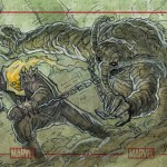 Ghost Rider Vs Man-Thing