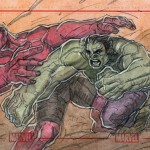 Red Hulk Vs Green Hulk