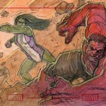 She-Hulk Vs Red Hulk
